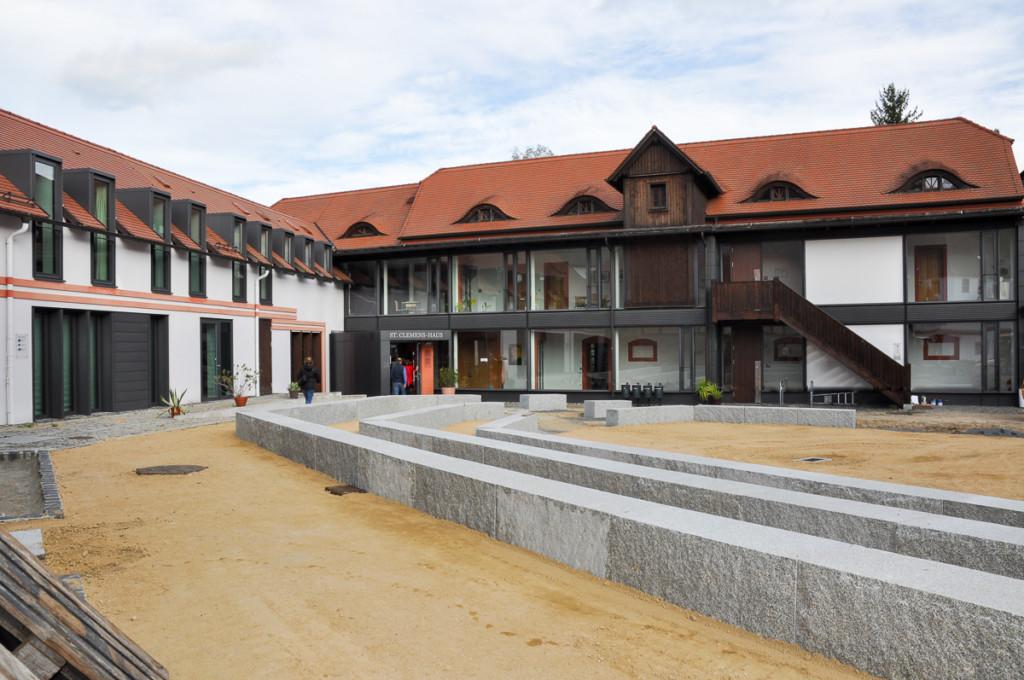 Neubau in St. Marienthal