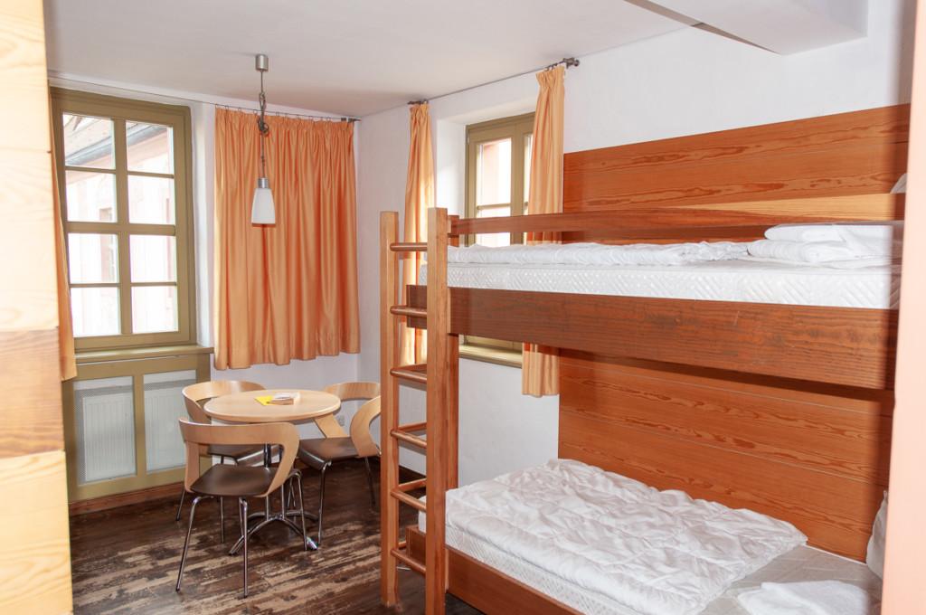 Doppelstockbetten in St. Marienthal