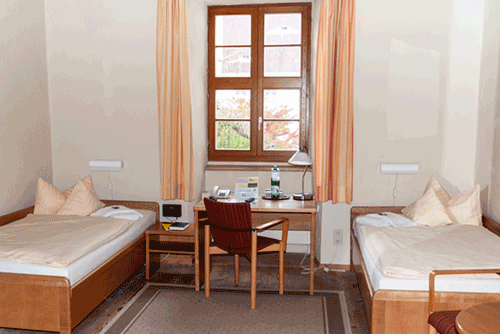 Zweibettzimmer in St. Marienthal